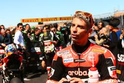 Tercer lugar Marco Melandri, Ducati Team