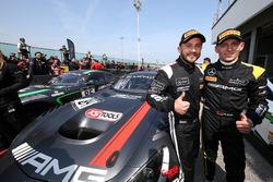 Race winner #84 Mercedes-AMG Team HTP Motorsport, Mercedes-AMG GT3: Maximilian Buhk, Franck Perera