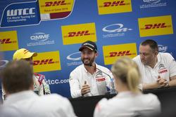 Press conference: Pole position for Mehdi Bennani, Sébastien Loeb Racing, Citroën C-Elysée WTCC; The