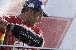 Podium: third place Andrea Iannone, Ducati Team