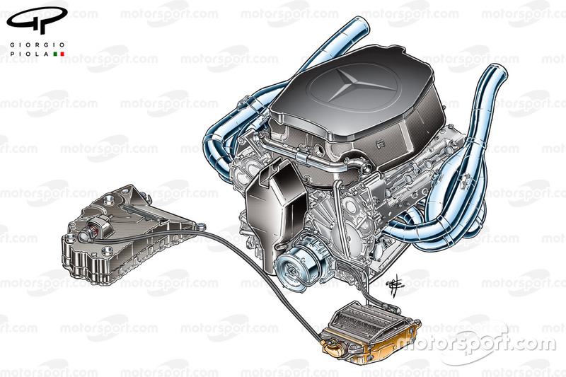 McLaren MP4-24, KERS-Paket