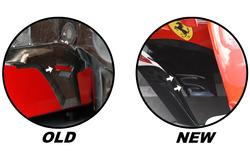 Ferrari SF70H: Unterboden, Vergleich