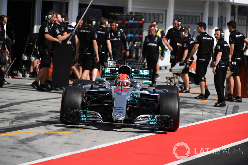 Джордж Расселл, Mercedes-Benz F1 W08