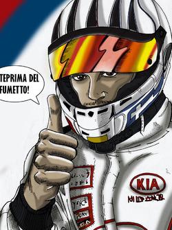 Alex Fontana, in versione fumetto by Johnny Pagani