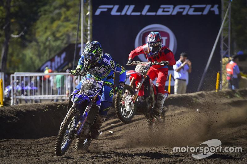 Jeremy Van Horebeek, Yamaha; Evgeny Borbyshev, Honda HRC