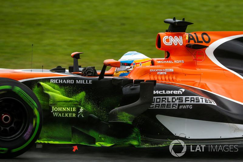 McLaren MCL32: Windabweiser