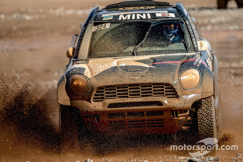 #324 X-Raid Team Mini: Boris Garafulic, Filipe Palmeiro