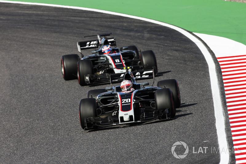 Haas'tan ikinci kez çifte puan