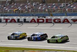 Chase Elliott, Hendrick Motorsports Chevrolet, Kasey Kahne, Hendrick Motorsports Chevrolet e Dale Earnhardt Jr., Hendrick Motorsports Chevrolet