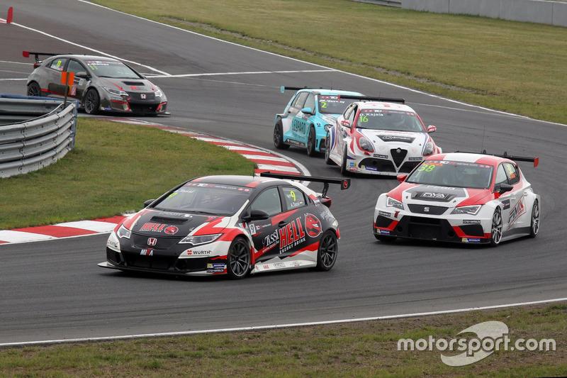 Аттіла Ташші, M1RA, Honda Civic TCR