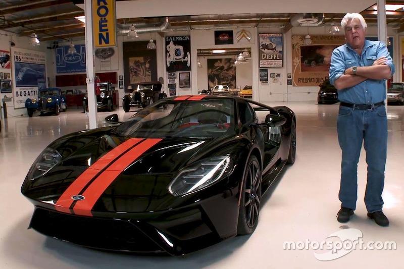 Джей Лено і його Ford GT