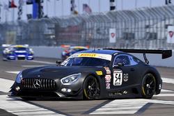 #54 Black Swan Racing Mercedes AMG GT3: Tim Pappas