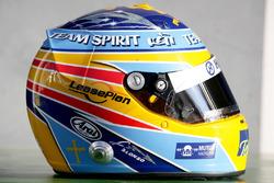 Helmet of Fernando Alonso, Renault