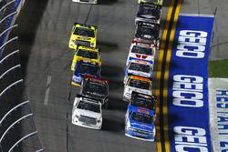 Spencer Gallagher, GMS Racing, Chevrolet; Brett Moffitt, Red Horse Racing, Toyota