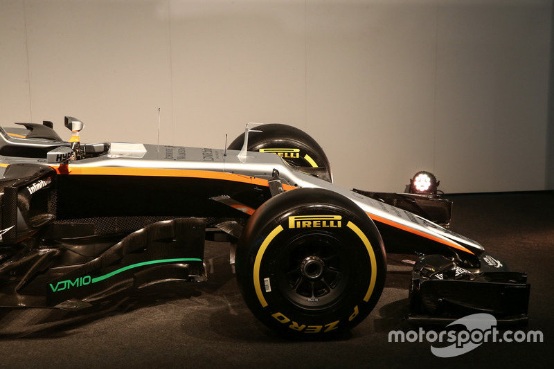 Force India VJM10: Frontpartie
