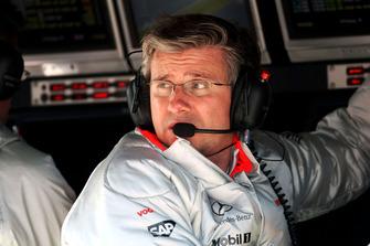 Pat Fry, McLaren Chief Engineer