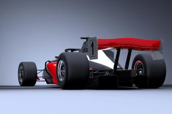 Representación del coche S5000