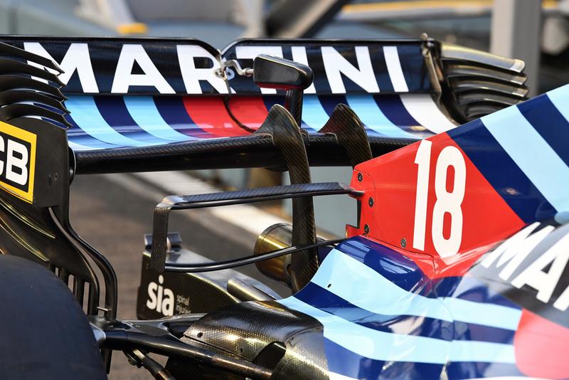 Alerón trasero del Williams FW41