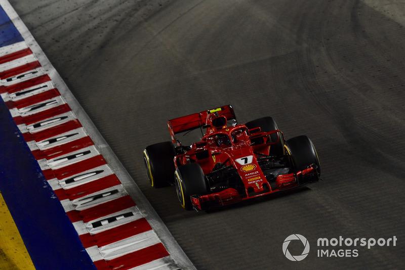 6 місце — Кімі Райкконен, Ferrari
