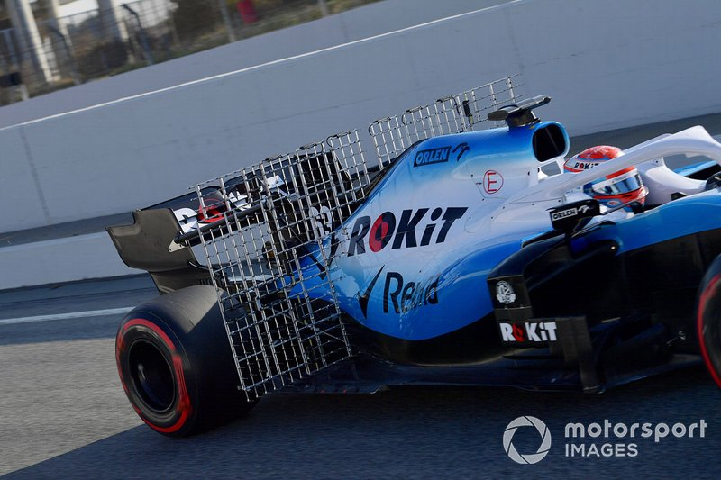 George Russell, Williams FW42 con sensores