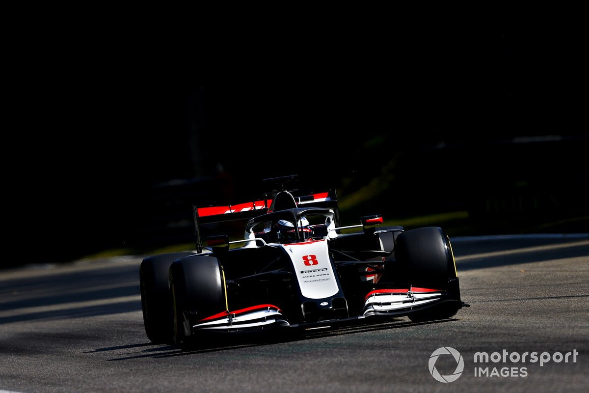 P16 Romain Grosjean, Haas VF-20