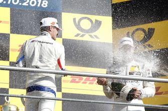 Podium: Marco Wittmann, BMW Team RMG en Gary Paffett, Mercedes-AMG Team HWA
