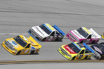 Todd Gilliland, Kyle Busch Motorsports, Toyota Tundra Pedigree Puppy Matt Crafton, ThorSport Racing, Ford F-150 Fisher Nuts/ Menards Johnny Sauter, GMS Racing, Chevrolet Silverado ISM Connect