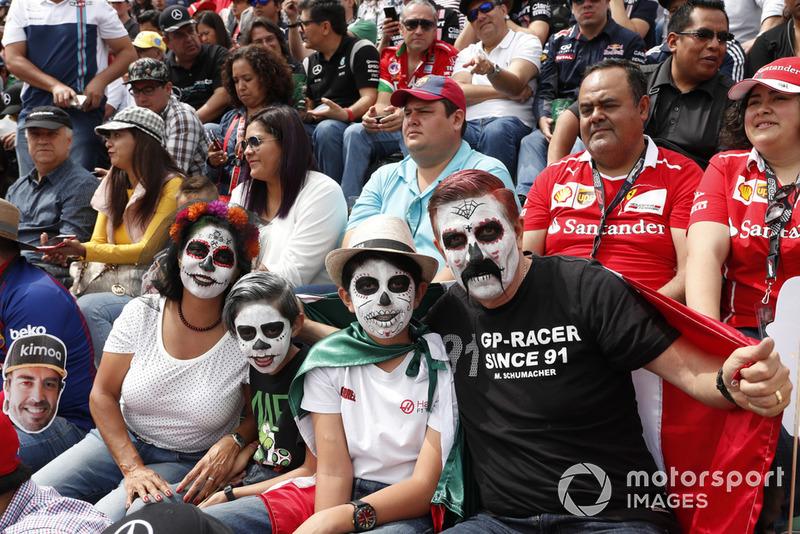 Гран Прі Мексики: грим