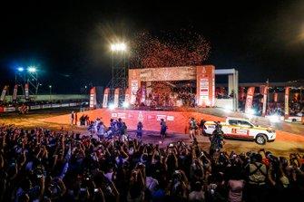 Podium: Red Bull KTM Factory Racing KTM: Toby Price, Matthias Walkner, Sam Sunderland