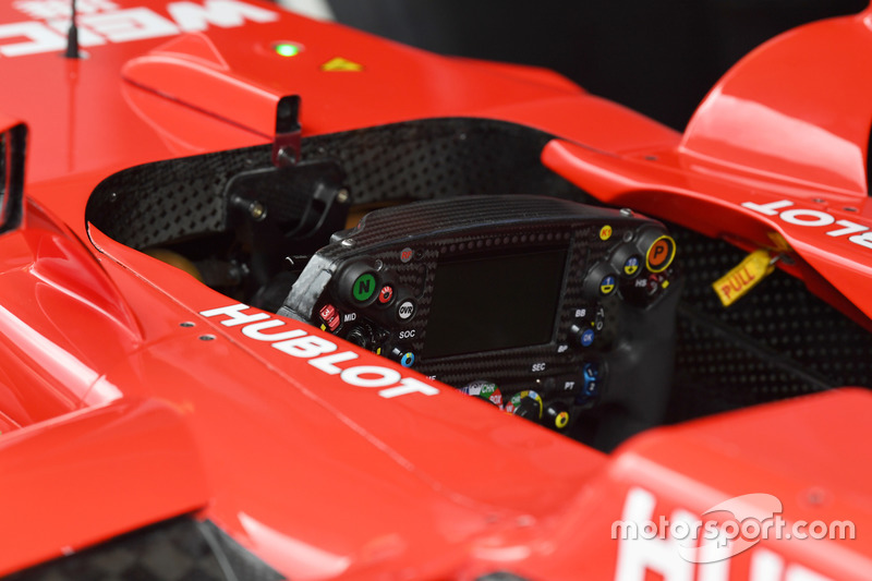 Ferrari SF70H steering wheel