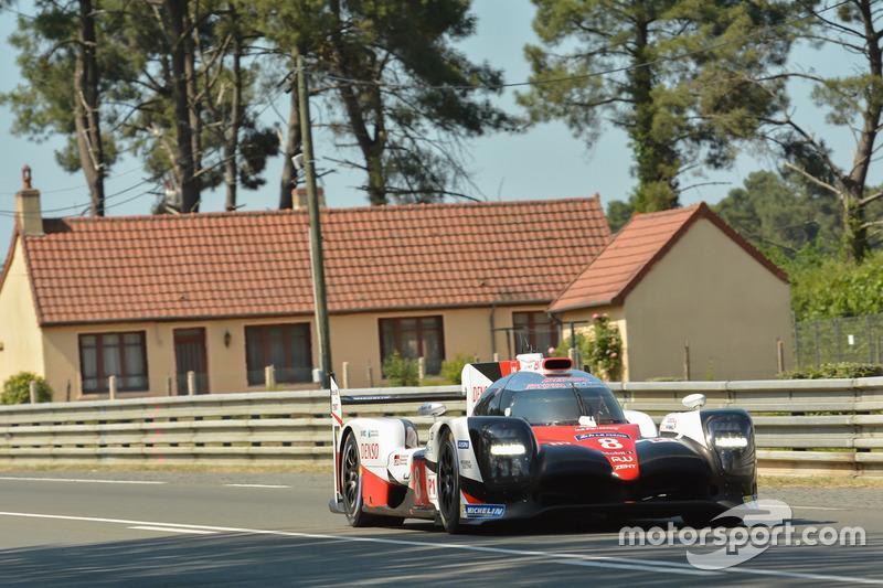 2. LMP1: #8 Toyota TS050 Hybrid