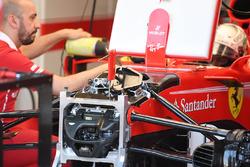 Передня підвіска та шасі Ferrari SF70-H