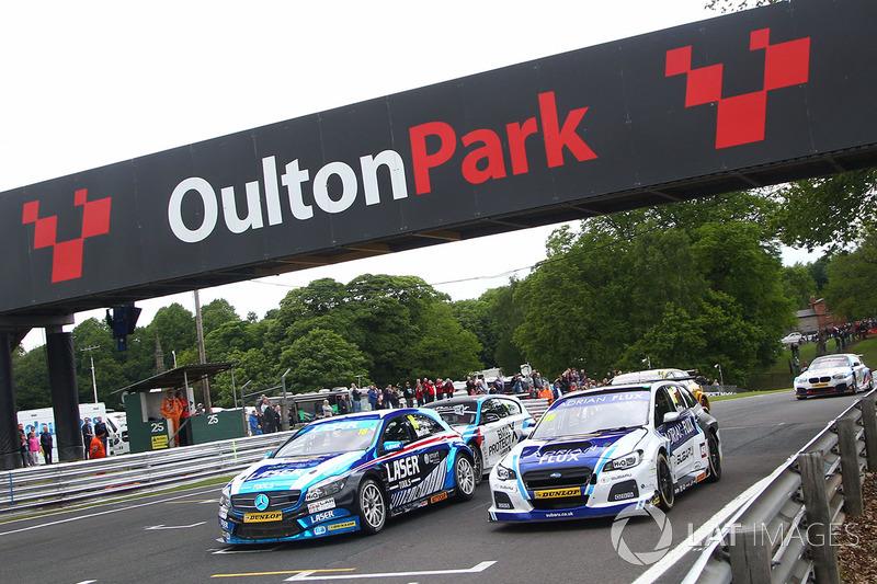 """""""Oulton Park"""" (Cheshire, Birleşik Krallık)"""