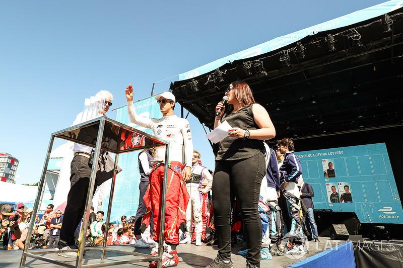 Lucas di Grassi, ABT Schaeffler Audi Sport, en la lotería de la calificación