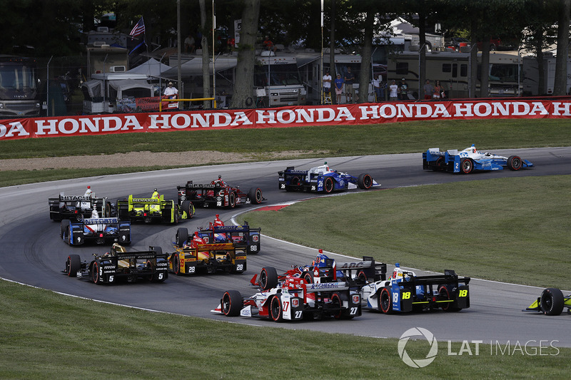 Josef Newgarden, Team Penske Chevrolet al inicio
