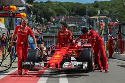 Car of Kimi Raikkonen, Ferrari