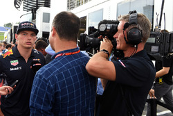 Max Verstappen, Red Bull Racing talks, Ted Kravitz, Sky TV