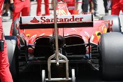 Ferrari SF70H, posteriore
