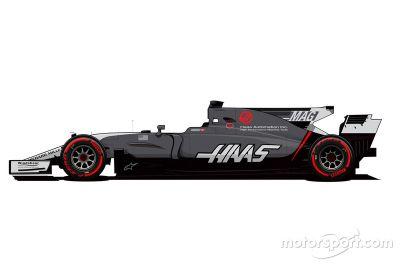 Haas Monaco livery unveil