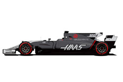 Neues Design: Haas F1 Team