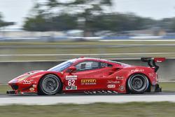 #62 Risi Competizione, Ferrari 488 GTE: Toni Vilander, James Calado, Juan Pablo Montoya