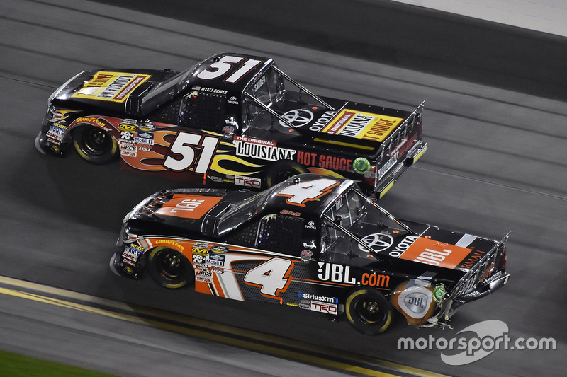 Kyle Busch Motorsports >> Christopher Bell Kyle Busch Motorsports Toyota And Myatt Snider