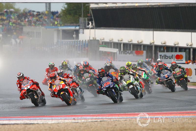 Jorge Lorenzo, Ducati Team, Marc Marquez, Repsol Honda Team lead