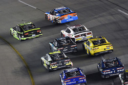 Brad Keselowski, Team Penske Ford and Kyle Busch, Joe Gibbs Racing Toyota