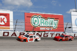 Dakoda Armstrong, JGL Racing Toyota, Jeremy Clements, Jeremy Clements Racing Chevrolet