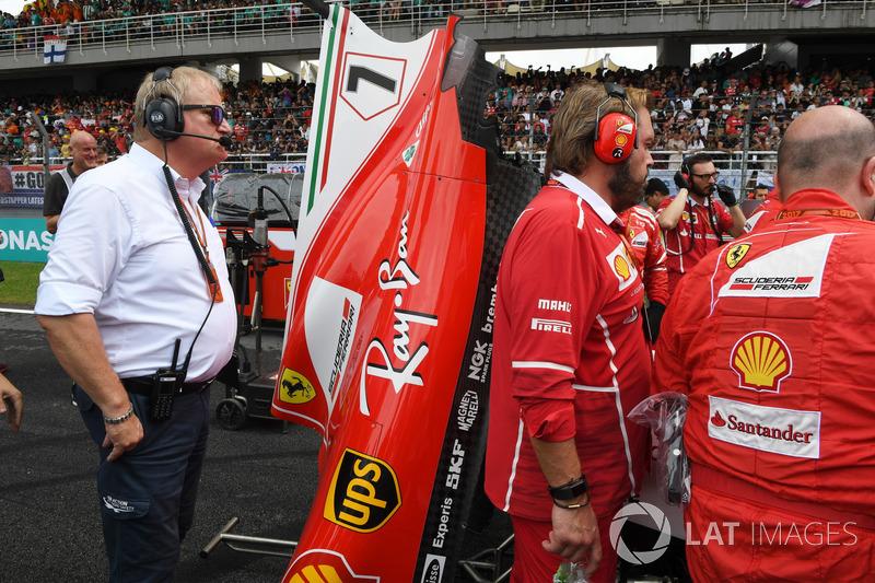 Технічний делегат FIA, механіки Ferrari, Ferrari SF70H Кімі Райкконена