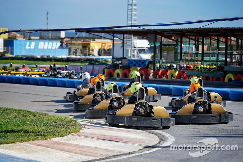 Acción de Karting