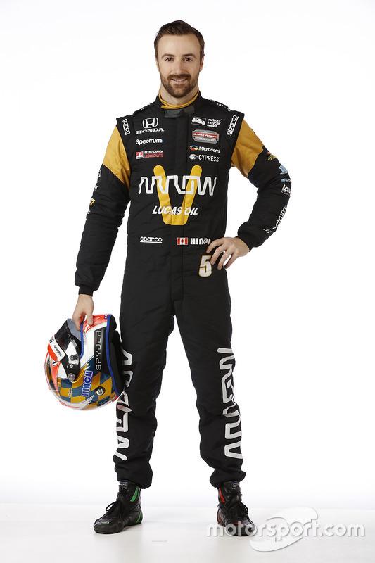 5. Джеймс Хінчкліфф, Schmidt Peterson Motorsports Honda