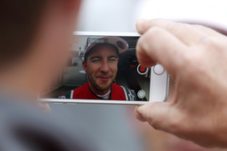 Mike Rockenfeller, Audi Sport Team Phoenix, Audi RS 5 DTM get filmed