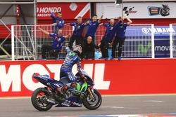 Переможець гонки Маверік Віньялес, Yamaha Factory Racing